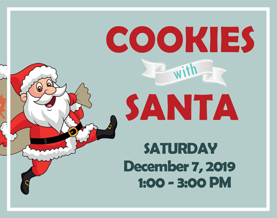 Cookies with Santa City Spotlight