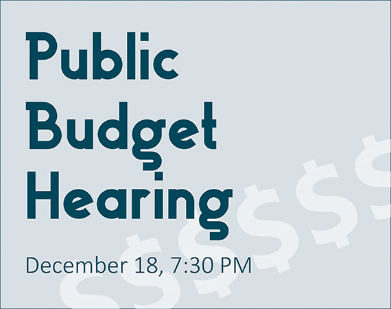Budget Hearing City Spotlight