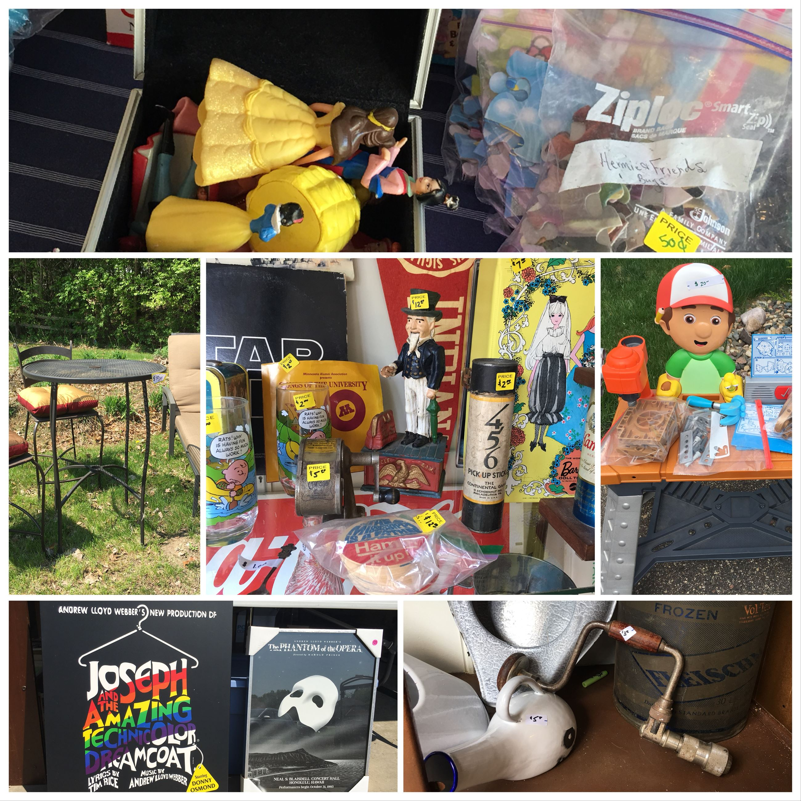 Garage Sale Collage Picture 1
